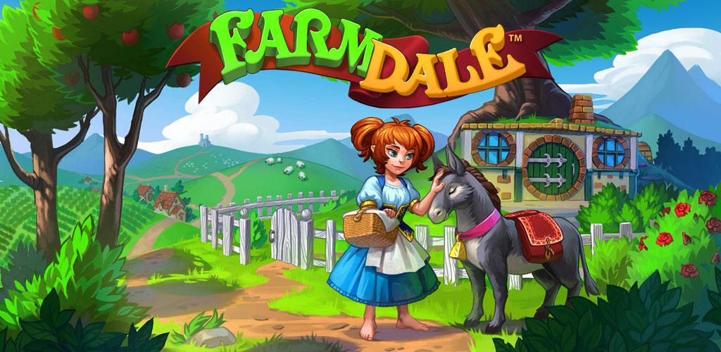 دانلود Farmdale - بازی مزرعه داری اندروید + مود