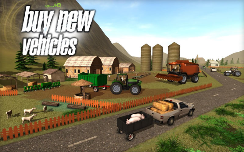 Download Farmer Sim 2015 Android Apk Original + Mod Money - Ovidiu Pop Google Play