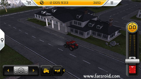 Farming Simulator 14 Android بازی اندروید