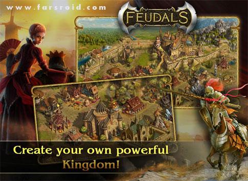 دانلود Feudals - بازی استراتژیک فئودال ها اندروید + دیتا