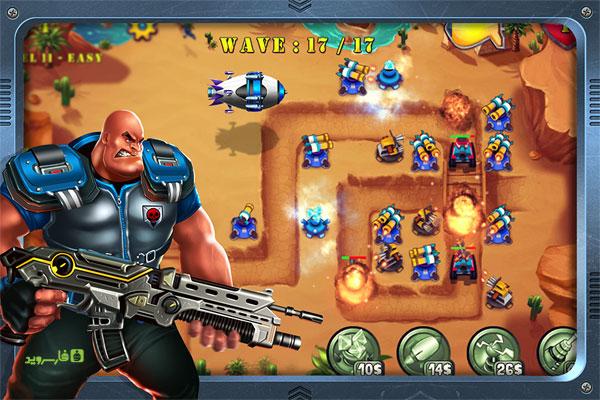 دانلود Field Defense: Tower Evolution - بازی استراتژیک دفاعی اندروید + مود