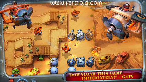 Download Fieldrunners 2 Android Game