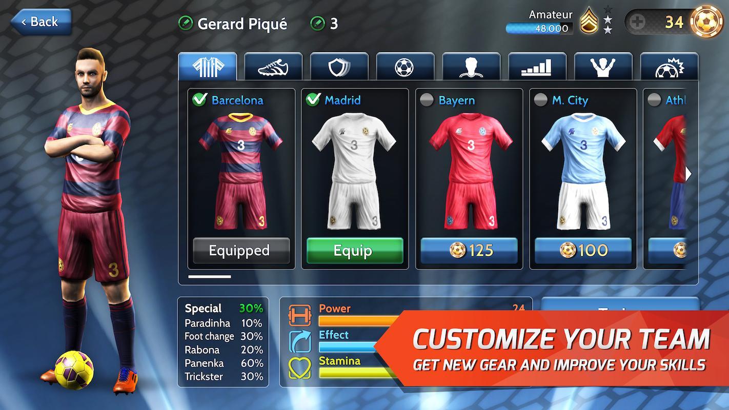 بازی جدید اندروید - Final kick Android