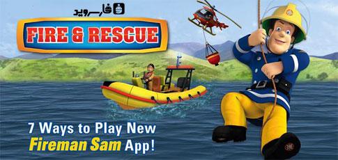 دانلود Fireman Sam - Fire and Rescue - بازی سام آتش نشان اندروید!