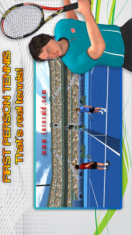 First Person Tennis World Tour - بازی اندروید جدید