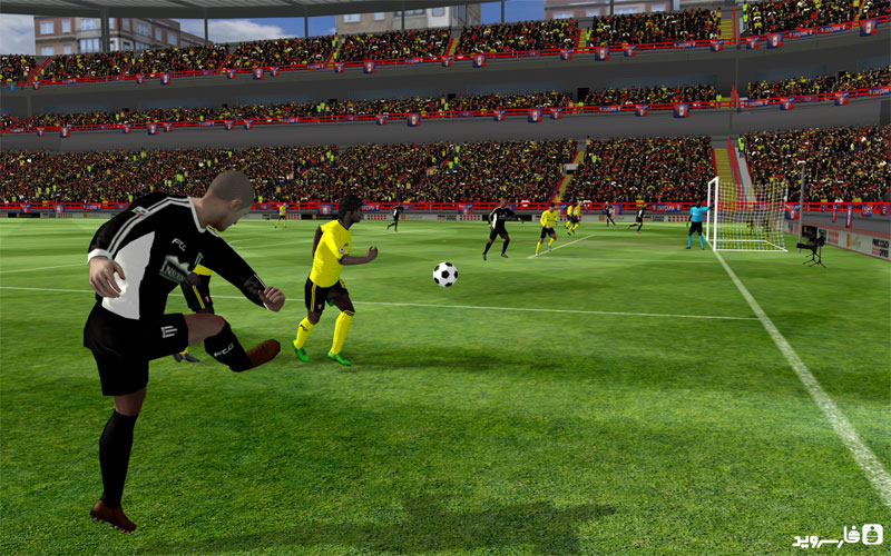 Download First Touch Soccer 2015 Android Apk + VIP + Obb SD - Google Play