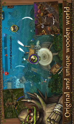First Wood War Android بازی اندروید
