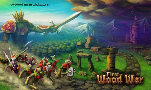 دانلود First Wood War - بازی آنلاین چند نفره جنگ چوب اندروید +دیتا
