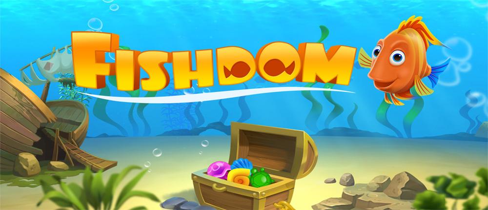 "Fishdom Deep Dive Cover دانلود Fishdom: Deep Dive 1.1.23 – بازی پازل ""اعماق دریا"" آندروید + مود"