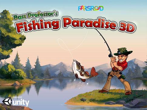 دانلود Fishing Paradise 3D - بازی بهشت ماهیگیری اندروید