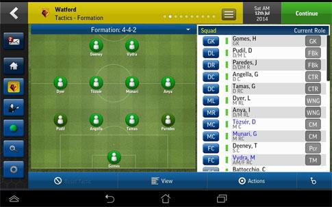 دانلود Football Manager Handheld 2015 6.3.1 – بازی مربی فوتبال 2015 اندروید + دیتا