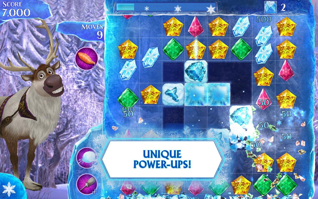 دانلود Frozen Free Fall 10.1.2 – بازی پازل جالب عصر یخی اندروید + مود
