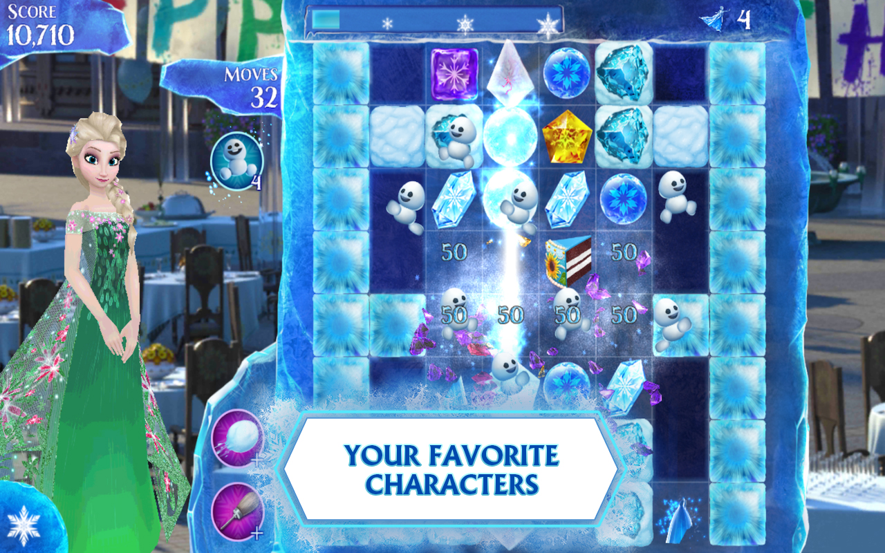 Download Frozen Free Fall Android Apk + Obb Data - New FREE