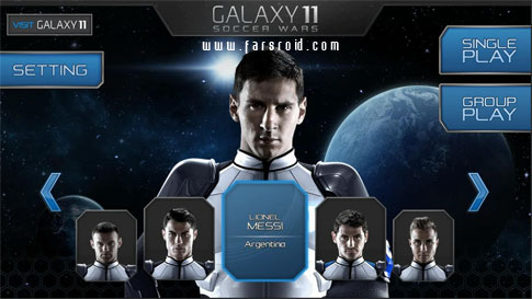 Download GALAXY 11 SOCCER WARS Android Apk - New Google Play