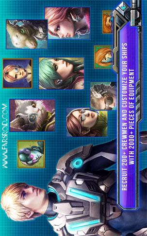 Galactic Phantasy Prelude Android بازی اندروید