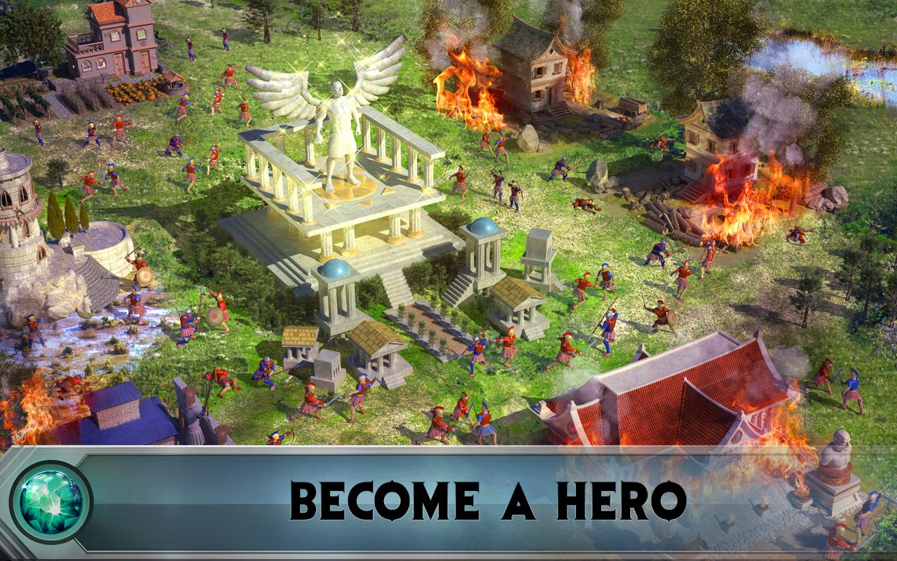 Game of War - Fire Age - بازی انلاین اندروید