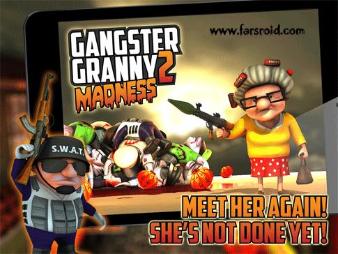 دانلود Gangster Granny 2: Madness - بازی مادربزرگ گانگستر 2 اندروید