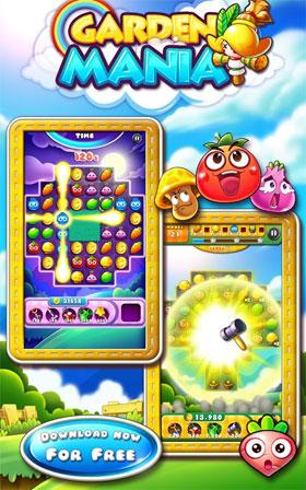 Garden Mania Android - بازی پازلی اندروید