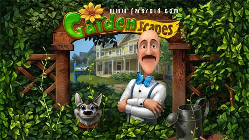دانلود Gardenscapes - بازی هیدن آبجکت اچ دی اندروید + دیتا