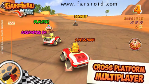 Download Garfield Kart Android Game Apk + OBB - FREE