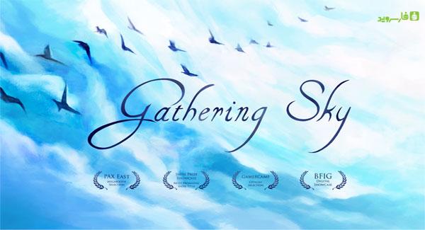 دانلود Gathering Sky - بازی شگفت آور پرندگان آسمان اندروید + دیتا