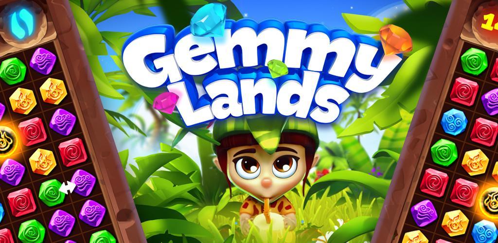 دانلود Gemmylands - بازی پازل سرزمین های جیمی اندروید!