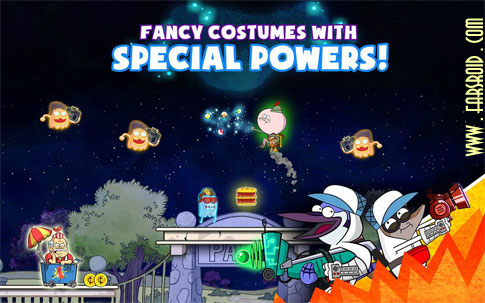 Download Ghost Toasters - Regular Show Android Apk + obb
