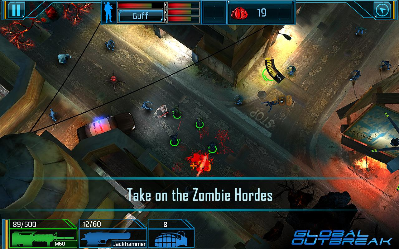 Global Outbreak Android - بازی اندروید