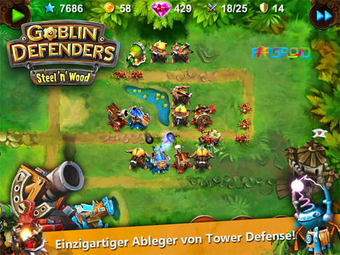 Download Goblin Defenders: Steel'n'Wood Android Apk + Obb