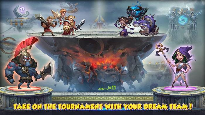 """دانلود Gods Rush 2 - بازی استراتژی آنلاین """"هجوم فرمانروایان 2"""" اندروید"""