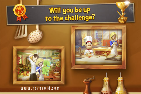 Gourmet Chef Challenge (Full) Android - بازی جدید اندروید