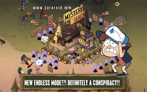 Gravity Falls Mystery Attack Android - بازی جدید اندروید
