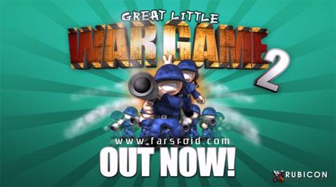 دانلود Great Little War Game 2 - بازی استراتژی جنگ کوچک 2 اندروید!
