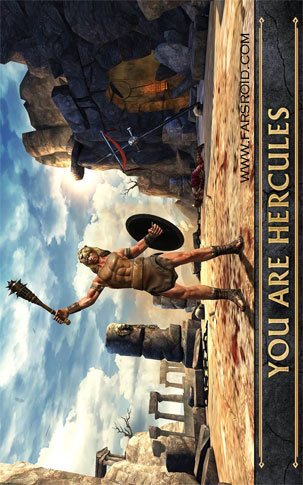 HERCULES: THE OFFICIAL GAME Android - بازی اندروید