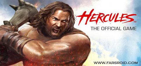 دانلود HERCULES: THE OFFICIAL GAME - بازی هرکول اندروید!