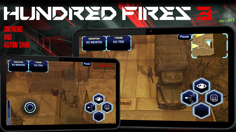 HUNDRED FIRES 3 Sneak & Action Android