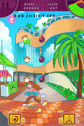 Hamster Drop HD Android - بازی اندروید