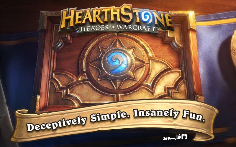 دانلود Hearthstone 21.3.93849 – بازی کارتی قهرمانان وارکرفت اندروید!
