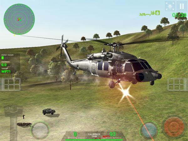 دانلود Helicopter Sim Pro - شبیه ساز هلیکوپتر اندروید + دیتا