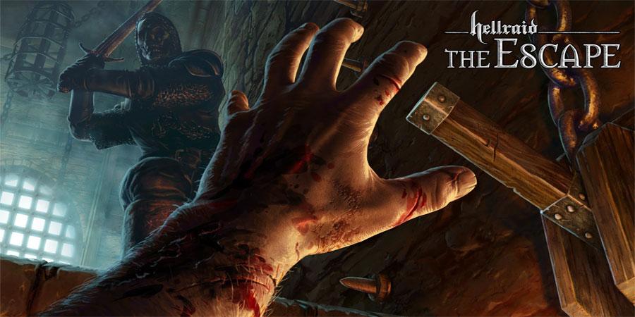 دانلود Hellraid: The Escape - بازی ترسناک و فوق العاده زیبای حمله جهنمی اندروید + دیتا