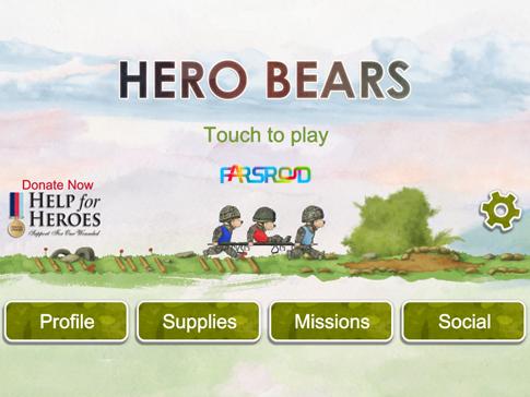 دانلود Help for Heroes : Hero Bears - بازی خرس های قهرمان اندروید