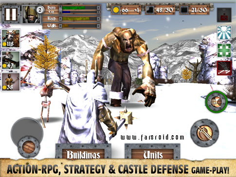 Heroes and Castles Android - بازی اکشن جدید اندروید