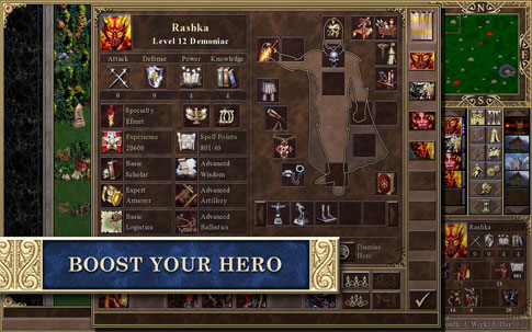Heroes of Might & Magic III HD Android