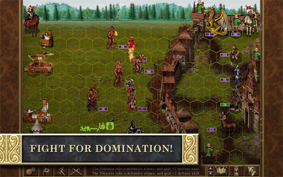 Heroes of Might & Magic III HD Android - بازی جدید اندروید