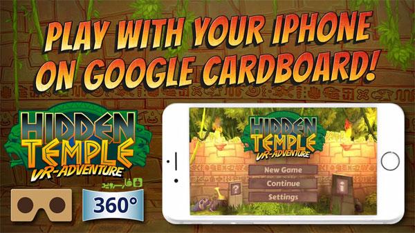 دانلود Hidden Temple - VR Adventure - بازی معبد پنهان اندروید + دیتا