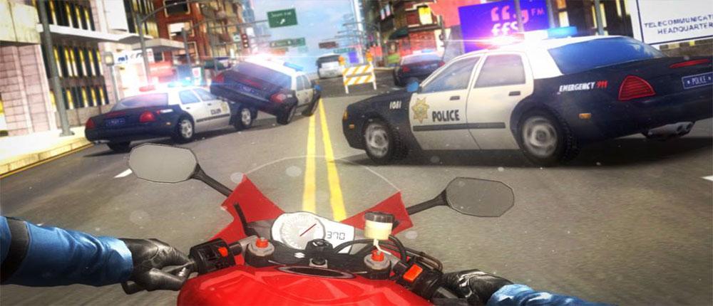دانلود Highway Traffic Rider - بازی موتور سواری در بزرگراه اندروید !