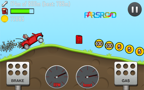 Hill Climb Racing Android بازی اندروید