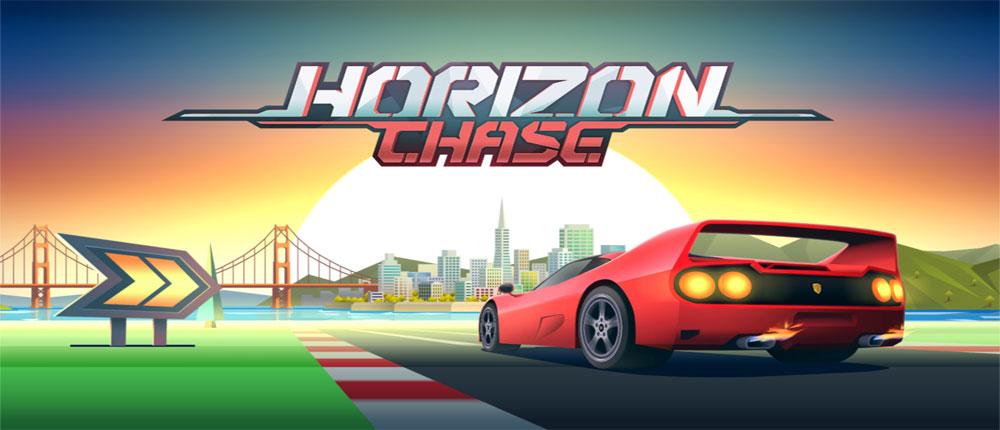دانلود Horizon Chase World Tour - بازی خاطره انگیز اتومبیلرانی دهه 80 و 90 اندروید + دیتا