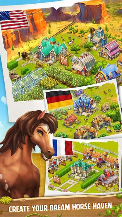 دانلود Horse Haven World Adventures 8.6.0 – بازی محبوب و زیبا پرورش اسب اندروید!