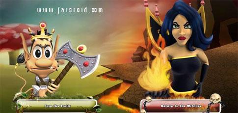 دانلود Hugo Troll Wars - بازی آنلاین جنگ های ترول اندروید!